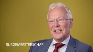 Burgemeester Jan Rijpstra van Smallingerland stelt zich voor