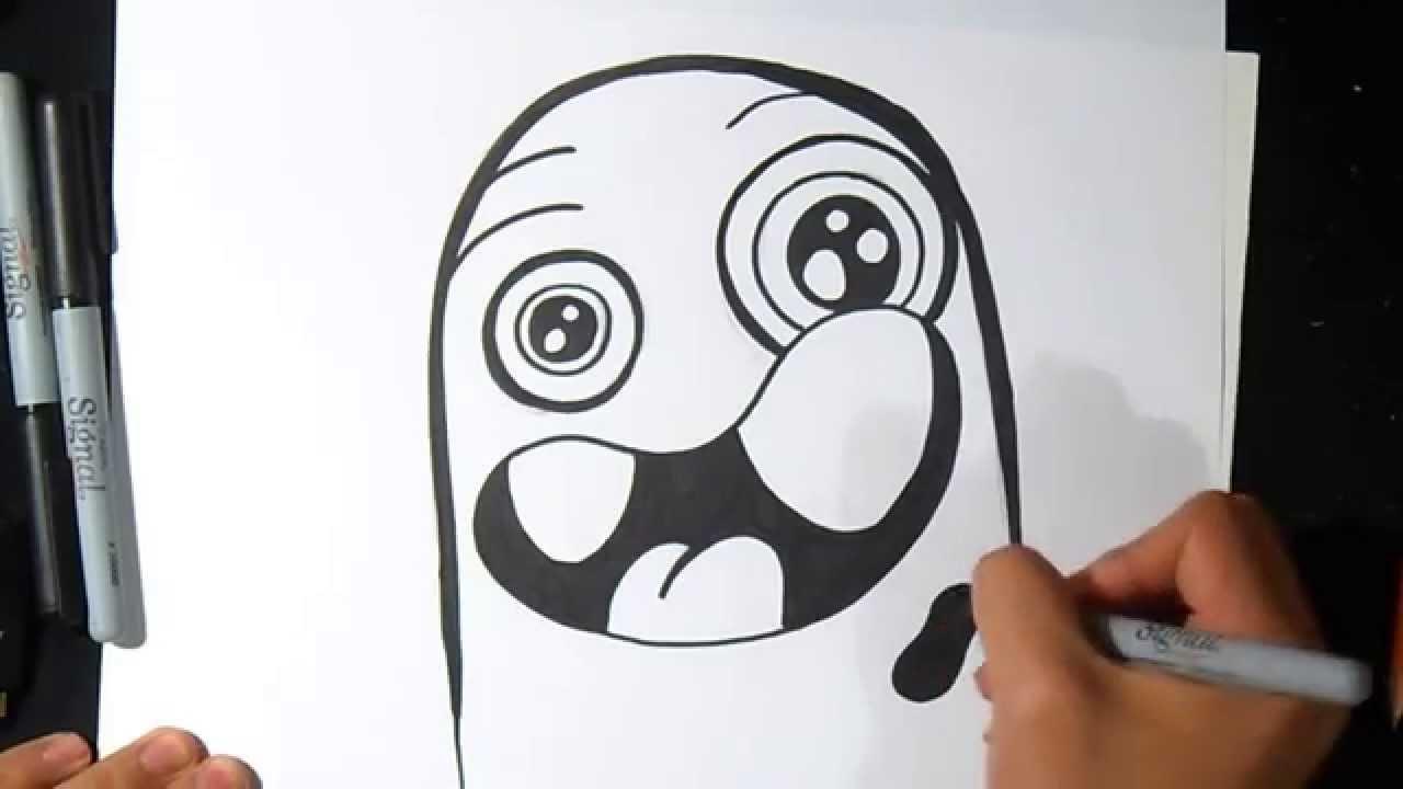 Comment dessiner caract re des enfants graffiti youtube - Comment dessiner un enfant ...