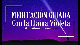 Meditación guiada con la Llama Violeta