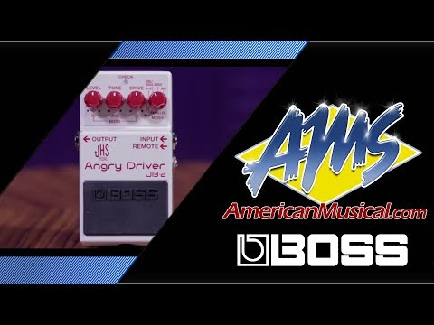 Boss JB 2 Angry Driver Overview - American Musical Supply