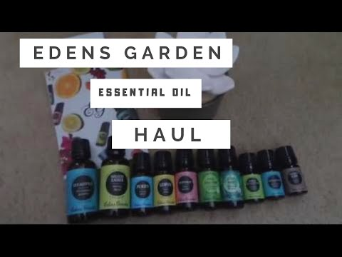 edens-garden-essential-oil-unboxing-|-ceramic-oil-diffuser
