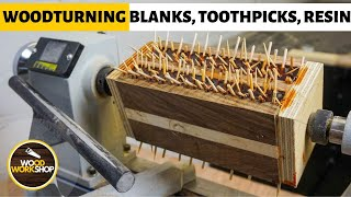Woodturning Blanks, Toothpicks and Resin