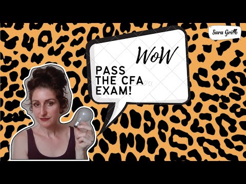 Discouraged? Don't be! Listen to my story about the CFA exam.