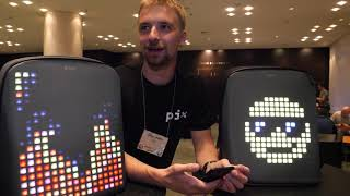 $259 Pix Backpack, programmable LED backpack