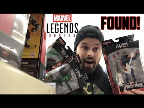EPISODE 56  TOY HUNTING AT WALGREENS FOR THE NEW MARVEL LEGENDS LIZARD BAF WAVE MINI