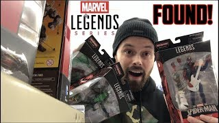 EPISODE 56 - TOY HUNTING AT WALGREENS FOR THE NEW MARVEL LEGENDS LIZARD BAF WAVE (MINI REVIEW)