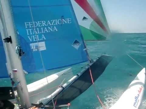 puntiroli oscar dudek pavol giro d'Italia 2011 catamarano mattia esse sport 18 real sailing italia 6