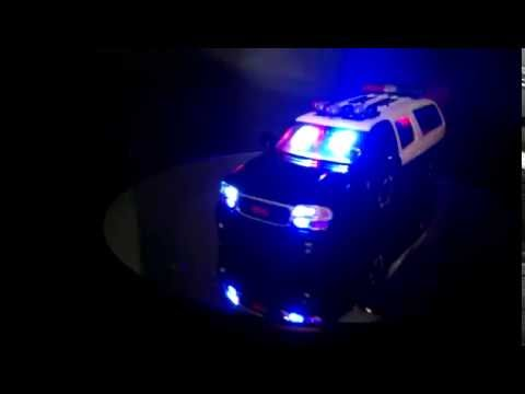 State trooper vehicle