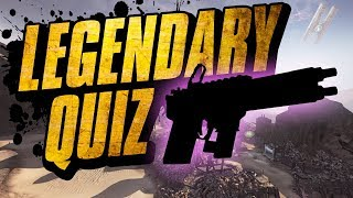 Borderlands 2 - Legendary Quiz - Test Your Knowledge!!