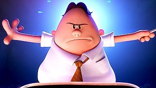 "CAPTAIN UNDERPANTS - ""Kings Of Farts"" Movie Clip + Song Trailer (Animation, 2017)"