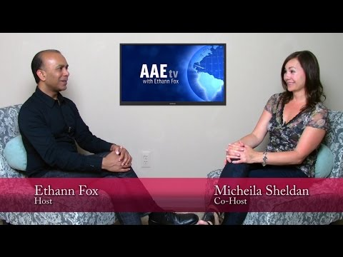 AAE tv | Solar Energies & The New Frequency | Micheila Sheldan | 7.18.15