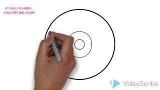 How to Draw a disk / Как нарисовать диск