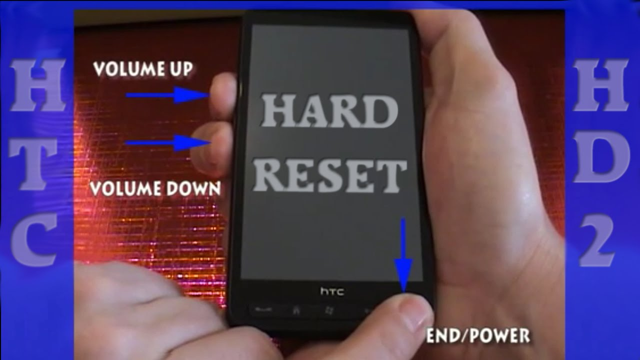 how to factory reset a hard drive