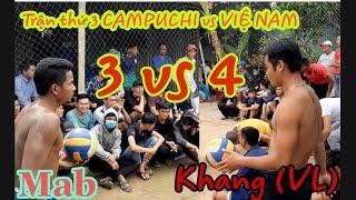 KHANG (VL) đối đầu CAMPUCHIA.cuộc chiến không cân sức