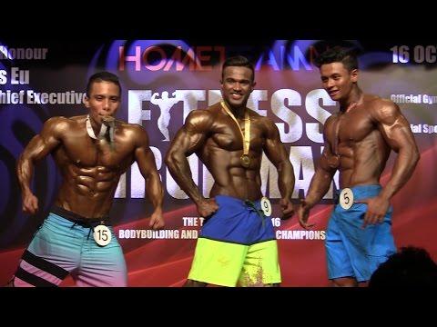Fitness Ironman 2016 - Men's Physique Open (Below 170cm)