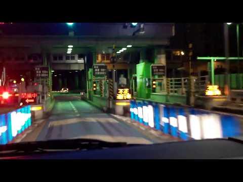 Car ride from Haneda airport to Okubo Shinjuku-ku [part 1 of 2]