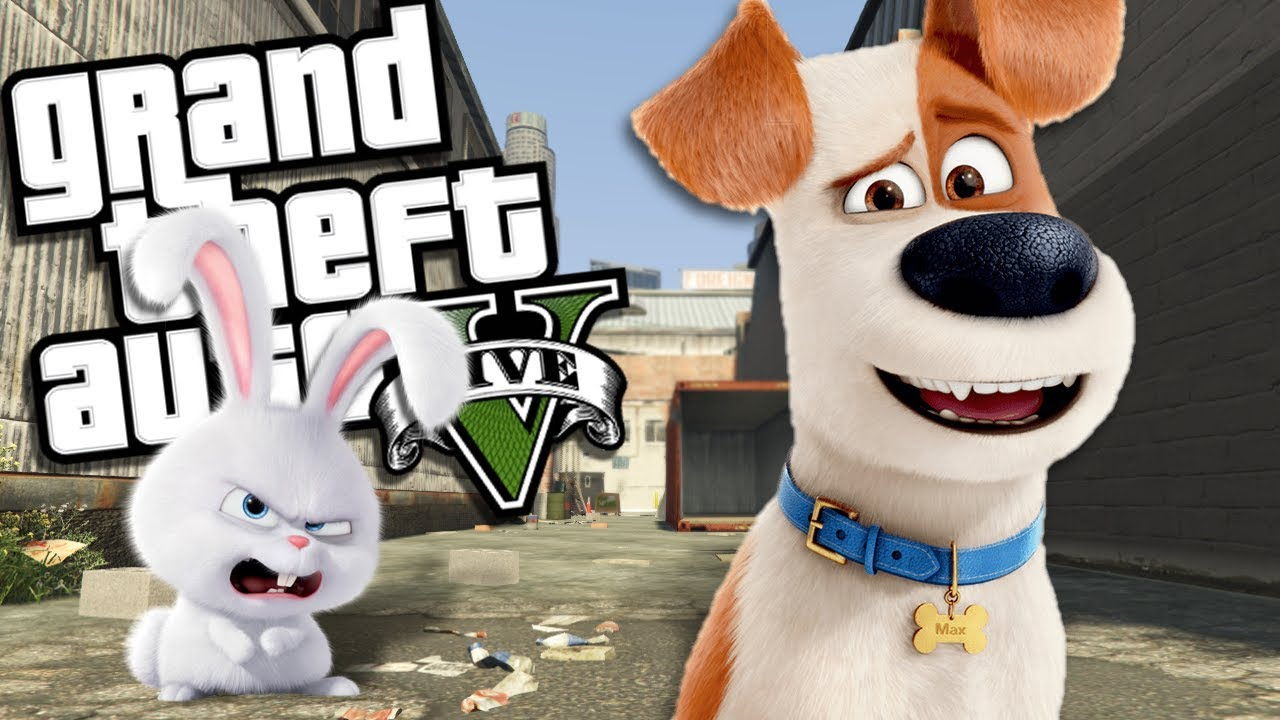 THE SECRET LIFE OF PETS MOD (GTA 5 PC Mods Gameplay)