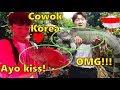 REAKSI COWOK KOREA PERTAMA KALI JALAN-JALAN DI INDONESIA(FARM HOUSE)