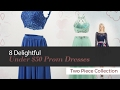 8 Delightful Under $50 Prom Dresses Two Piece Collection