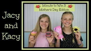 Minute to Win It Challenge ~ Mother
