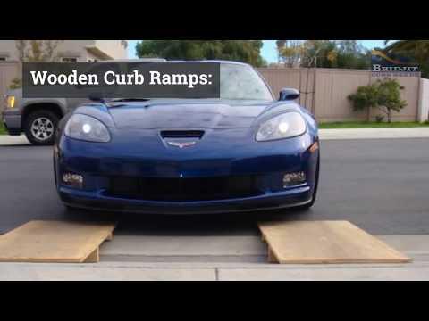 Homemade Curb Ramp Options
