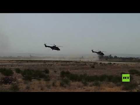القوات الروسية والأوزبكية تجري -عملية تخريبية- ضمن التدريبات على الحدود مع أفغانستان