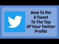 How To Pin A Tweet To The Top Of Your Twitter Profile in Hindi Twitter Tutorial in Hindi