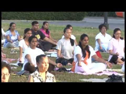 Yoga for Health - 7 April 2013 - HSS Suriname