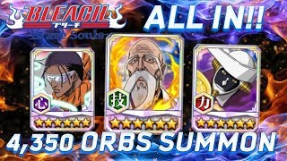 4,000+ ORB SUMMON FOR YAMAMOTO! [Bleach Brave Souls]