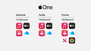 Apple unveils Apple One, a bundle of the company's services
