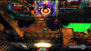 LEGO Batman 2: DC Super Heroes - Catwoman's Motorbike Gameplay (PS3)