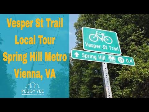 Vesper Trail Tour | Spril Hill Metro Station | Tysons Real Estate