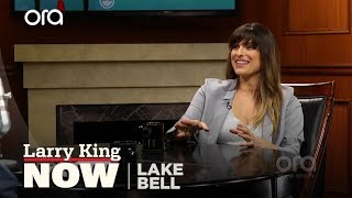 Lake Bell on her husband - and his tattoos | Larry King Now | Ora.TV