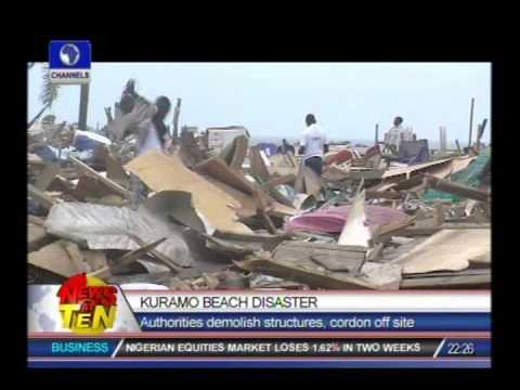 Lagos commence demolition of structures on Kuramo beach