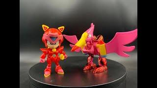 1990年Bandai 元祖功夫貓黨/忍者貓拼裝模型02號寶寶.
