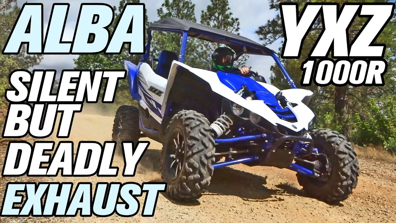 Testing the YXZ 1000 Alba Racing Silent But Deadly SBD Exhaust Upgrade and  ECU Tune