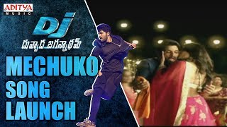 Video Mecchuko Song Launch @ DJ - Duvvada Jagannadham Audio Launch Live || AlluArjun, Pooja Hegde, download MP3, 3GP, MP4, WEBM, AVI, FLV Oktober 2017