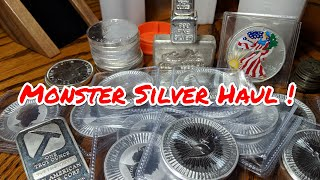 Stacking Silver Fast, Heavy and Hard... Should You? - Silver Stack Buys & a MCM Silver Unboxing
