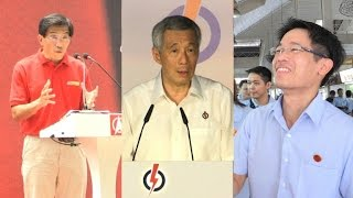 Huge rallies boost opposition hopes in Singapore polls