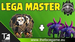 Super ATTACCO in LEGA MASTER --Clash of Clans ITA--