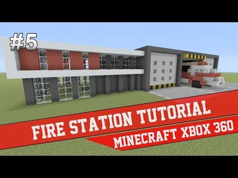 How To Build A Fire Truck In Minecraft Xbox