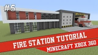 Fire Station Tutorial - Minecraft Xbox 360 #5