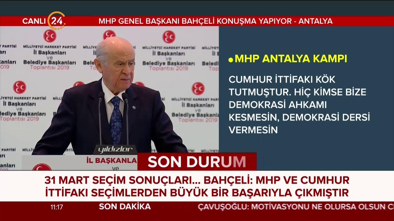 MHP Lideri Bahçeli'den İmamoğlu mesajı: FETÖ'cüler kimi kutladı, PKK'lılar kime sevindi?