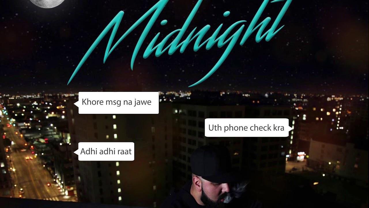 Midnight (Lyrical Video) | Aardee | Intense | Midnight