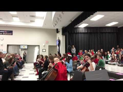 Forts Pond Elementary School 5th Grade Orchestra 2017, Jingle Bells