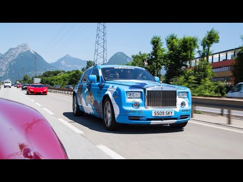 Transporting Models In A Rolls-Royce Challenge [Modball Rally]