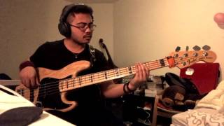 Glenn Fredly & The Bakuucakar - Rame-rame/Timur (Bass Cover)