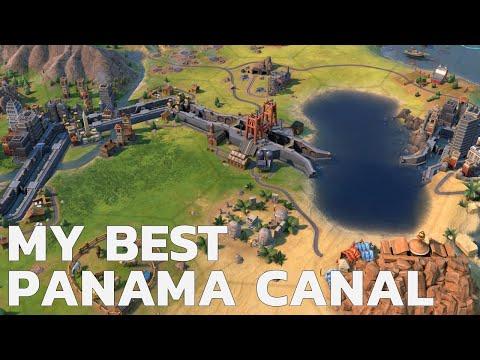 The Best Panama Canal I Ever Built - Civ 6 Deity Maya Ep 6