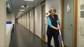 Anitta, siivoojana 38 vuotta
