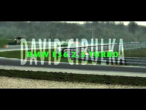 BMW e36 325 TURBO, D.Cibulka, 7.závod CDS 2014 Brno